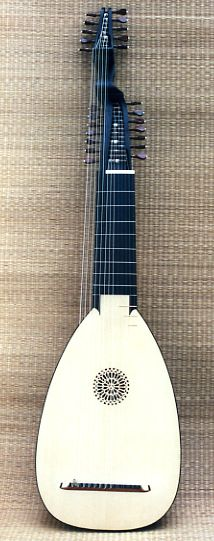 13 course lute after M. Hoffmann