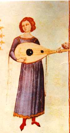 Boethius luteplayer