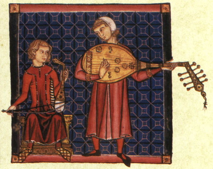 Cantigas luteplayer