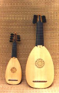 Treble lute